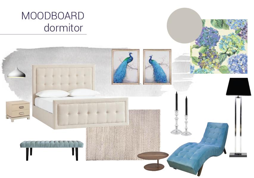 moodboard dormitor